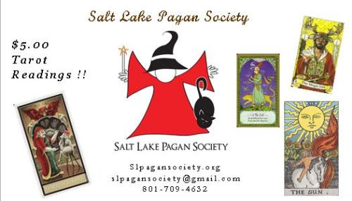 SLPS Tarot Readings Business Card AD