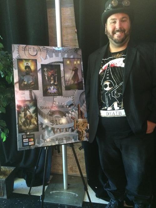5th Annual Salt City Steamfest, Daniel Cureton, Friday, August 12, 2016, Utah Cultural Center, West Valley City, UT