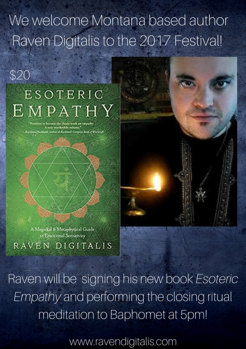 We welcome Montana based author Raven Digitalis to the 2017 Festival! (1)